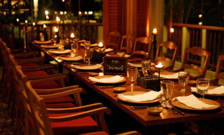 Photo of About Restaurant Tables as well as their Types
